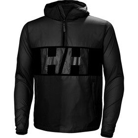 Helly Hansen M's Active Windbreaker Anorak Ebony